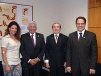 INTEGRAÇÃO - Parlamentares paraenses visitam o Interlegis