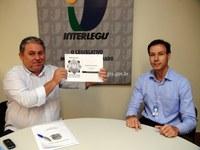 COMUNICAÇÃO - Câmara de Caicó assina projeto executivo de comunicação na sede do Interlegis