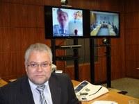 INFORMAÇÃO - Novos consultores para marcos jurídicos participam de videoconferência
