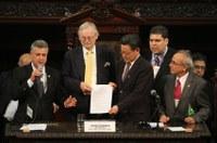 INTEGRAÇÃO - Cúpula Mundial dos Legisladores apresenta documento à RIO+20