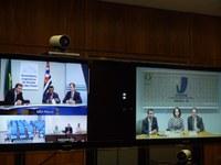INTEGRAÇÃO -  Diretores-gerais e secretários de mesas discutem próximo encontro no Interlegis, por videoconferência