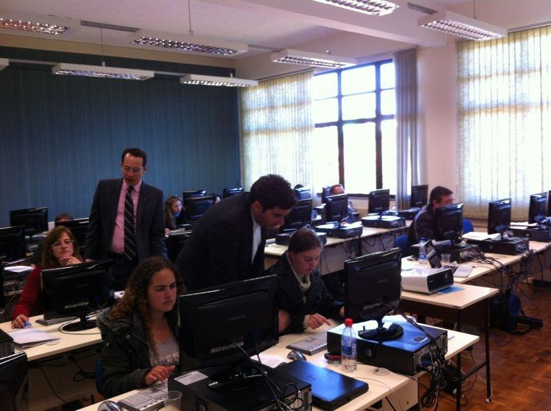 Câmara de Lagoa Vermelha- RS recebe treinamento de Portal Modelo