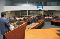 """Câmara de Joinville SC promoveu seminário """"Município e o Poder Legislativo"""""""