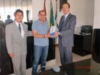 Câmaras Municipais de Alagoas recebem visita de representantes do Interlegis.