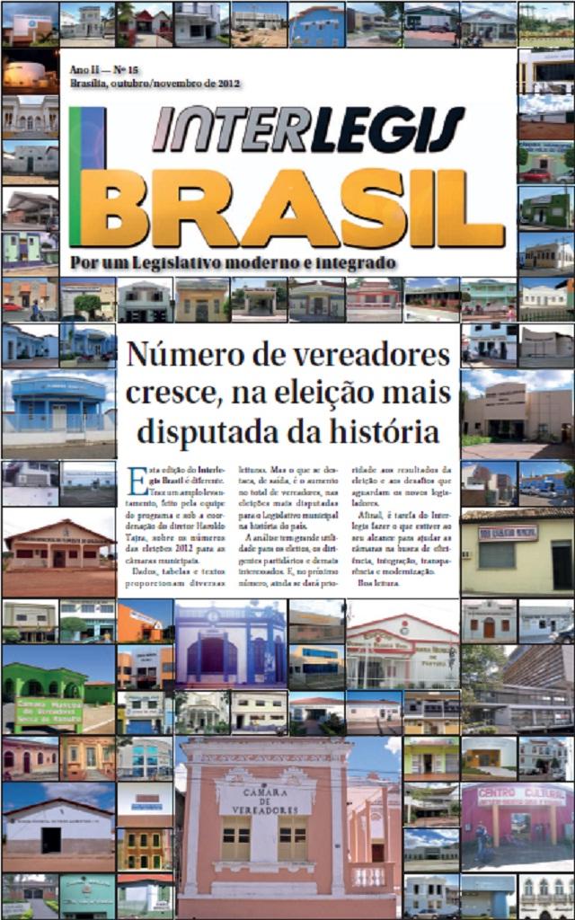 Nova edição do Interlegis Brasil analisa os números das eleições municipais