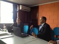 Trabalho de diagnóstico do Interlegis visita municípios de Roraima.