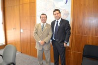 Interlegis recebe visita do Vereador da Câmara de Morro Agudo