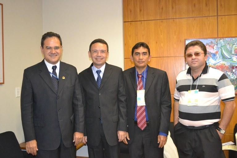Vice-Presidente da Câmara de Afonso Cunha (MA) visita o Interlegis