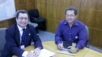 Vereador de Caxias (MA) visita o Interlegis para estreitar parceria