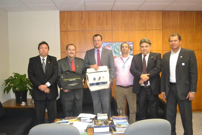 ILB recebe câmara de Cáceres-MT