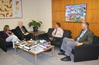 ILB recebe visita de pesquisador da Universidade de Oxford