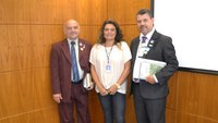 Presidente de Câmara de Jaboticatubas e prefeito são recebidos no ILB
