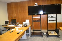 Senador Cristovam utiliza sistema de videoconferência do ILB e elogia a modalidade de debate
