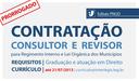 Contratações temporárias para profissionais da área de Direito - inscrições prorrogadas