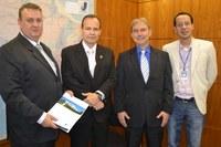 Prefeito e vereador de Presidente Getúlio (SC) visitam o ILB