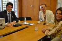 Vereador de Campina Grande é recebido no Interlegis/ILB