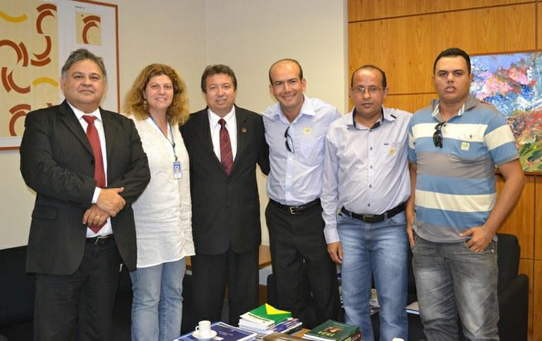 Câmara de Aquidabã, no Sergipe visita o Interlegis
