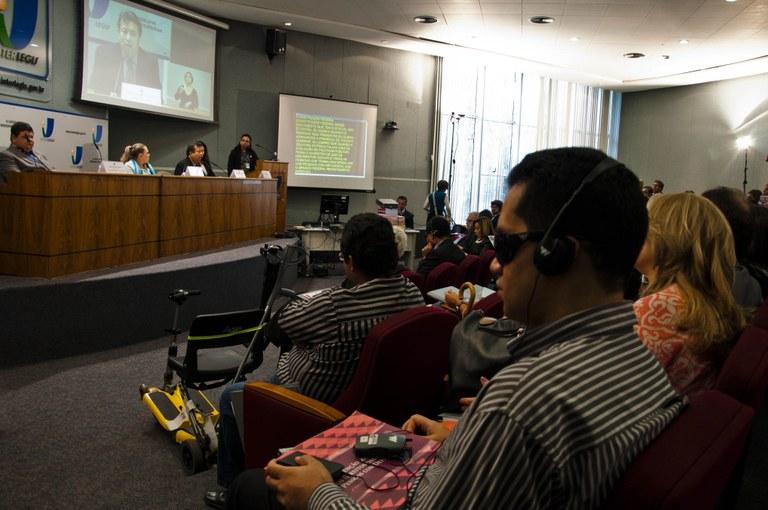 Seminário conclui que ainda há desconhecimento sobre os direitos das pessoas com deficiência