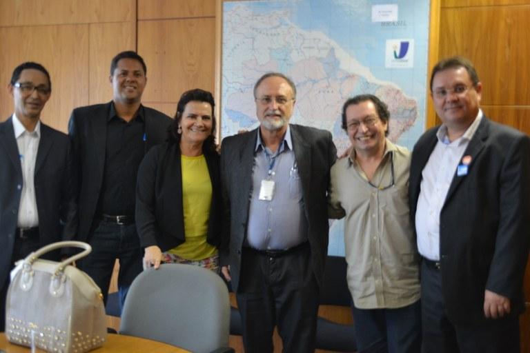 Vereadores de Feira de Santana buscam o Interlegis para atualizar Regimento Interno