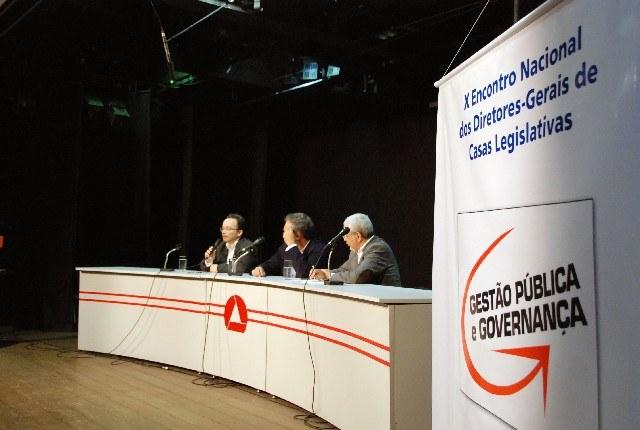 Diretores-gerais de casas legislativas promovem encontro em Belo Horizonte