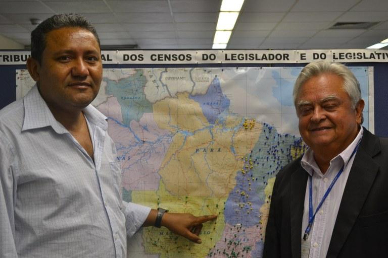 Presidente da Câmara de Santana do Araguaia, no Pará, elogia atendimento do Interlegis