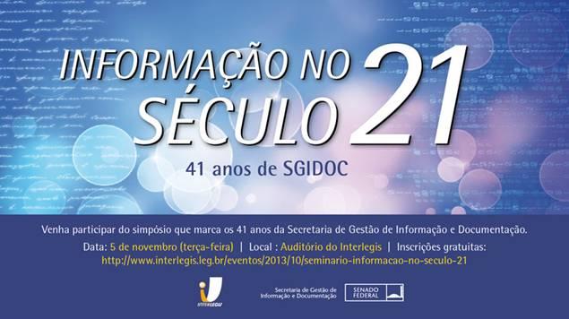 Secretaria de Gestão de Informação e Documentação comemora aniversário em evento no Interlegis/ILB