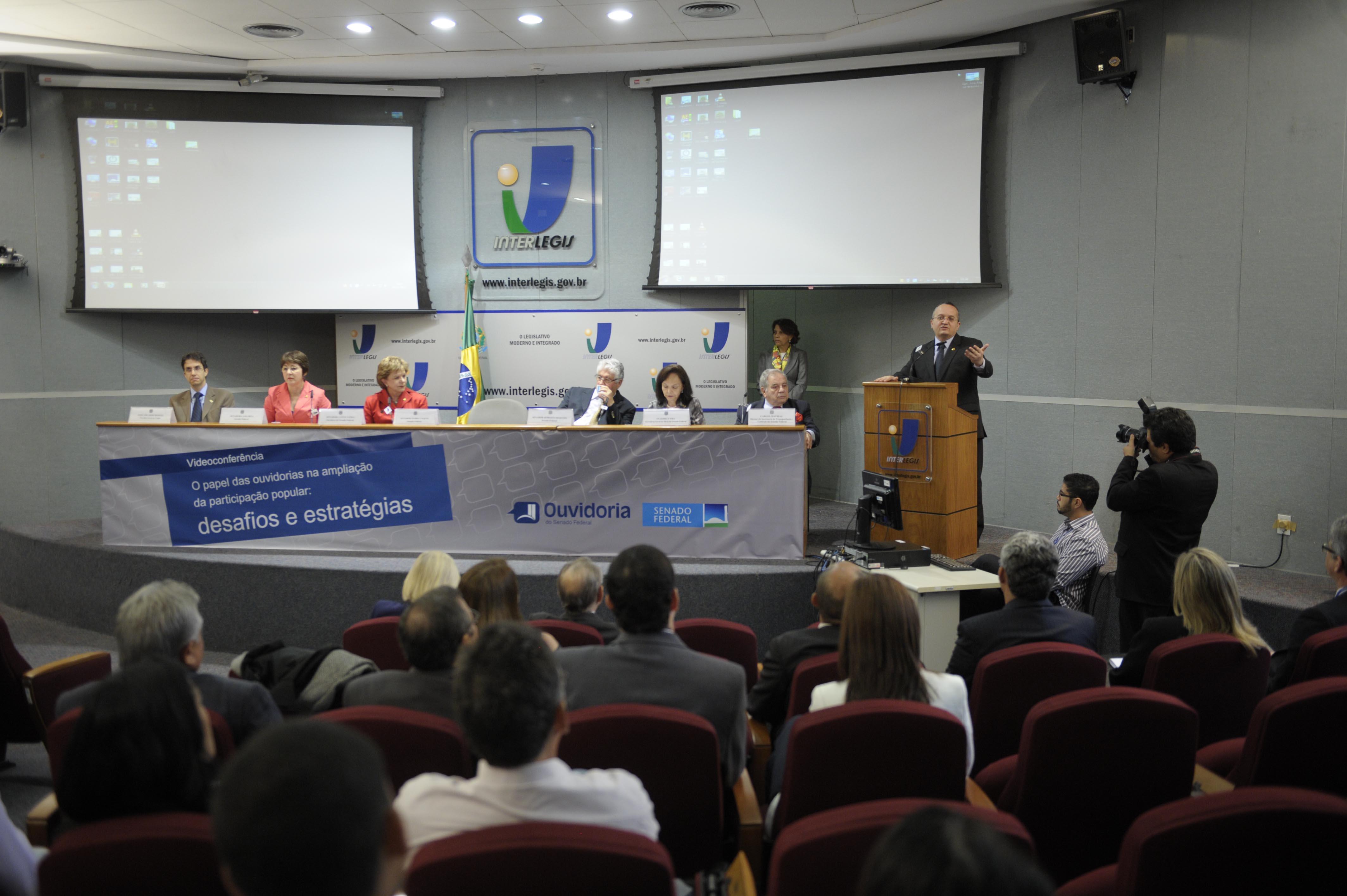 Videoconferência discute desafio das ouvidorias diante das manifestações populares