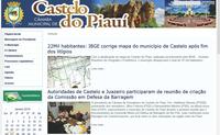 Câmara de Castelo do Piauí coloca no ar o seu Portal Modelo