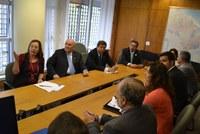 Após abrir seminário internacional no Interlegis, Flexa Ribeiro define agenda 2014 do Programa