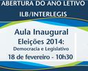 Na abertura do ano letivo do ILB, oferta de cursos gratuitos a distância