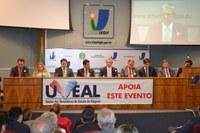 Aumento do Fundo de Participação e regulamentação de verbas indenizatórias são destaques na abertura de encontro de vereadores