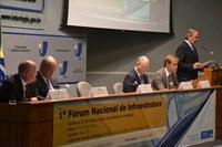 Senadores e ministros de estado discutem gargalos da infraestrutura na sede do Interlegis