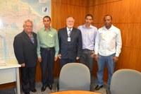 Vereadores de Lavandeira (TO) buscam Interlegis para parceria