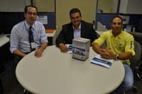Vereador de Brasilândia de Goiás visita Interlegis e conhece os produtos do Programa