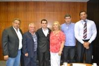 Presidente da Câmara da Estância Turística de Pereira Barreto visita Interlegis em busca de modernização e parceria