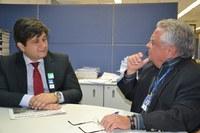 Vereador de Rio Branco visita Interlegis e conhece os produtos do Programa