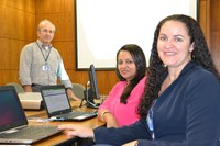 Representantes da Câmara Municipal de Campo Verde (MT) fazem treinamento sobre SAPL na sede do Interlegis