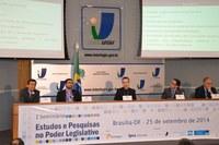 Seminário discute dificuldades e perspectivas da Pesquisa no Legislativo