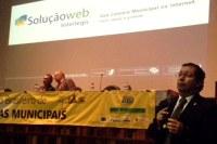Interlegis faz apresentação sobre SoluçãoWeb em último dia do Congresso da Abracam