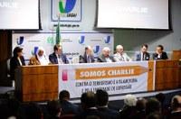 """Interlegis sedia ato público pela liberdade de expressão e combate ao terrorismo e a """"islamofobia"""""""