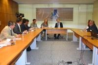 Deputado federal Marcos Reategui vem ao Interlegis para tratar de oficina tecnológica no Amapá