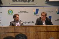 Diretor-Adjunto do ILB reúne equipe para se apresentar ao cargo