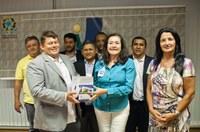 Presidente da Câmara de Pindorama (TO) e comitiva visitam Interlegis