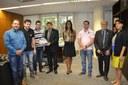Vereadores de Lapa (PR) discutem parceria em capacitação com ILB/Interlegis