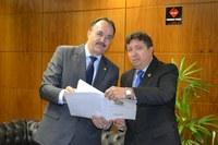 Deputado Mauro Pereira quer parceria do Interlegis com a Câmara de Caxias do Sul