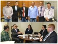 Representantes de Ceará e Mato Grosso do Sul visitam Programa Interlegis