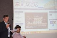 Assembleia de Alagoas entra em nova fase estreando Portal Modelo