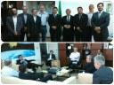 Helder Rebouças, diretor-executivo do ILB discute cooperação com instituições de ponta em S. José dos Campos
