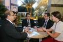 """Presidente da Câmara de Aracaju quer """"parceria total"""" com Programa Interlegis e ILB"""