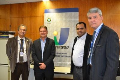 Câmara de Votuporanga quer intensificar parceria com Interlegis/ILB